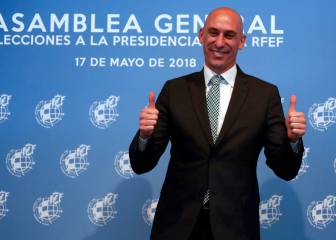 Luis Rubiales elected president of Spanish Football Federation