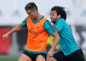 Real Madrid train with entire squad before Villarreal game