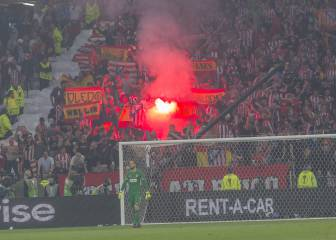 Uefa charge Atlético Madrid over 'racist behaviour' and fireworks