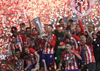 Seis atléticos, en la plantilla ideal de la Europa League