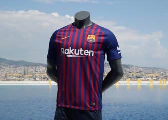 Barcelona presentó sus nuevas playeras para la 2018-19 0a163e29e