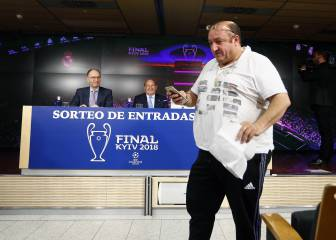 More than 2,200 Real Madrid fans return UCL final tickets
