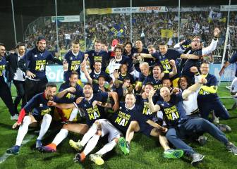 Three consecutive promotions sees Parma back in Serie A