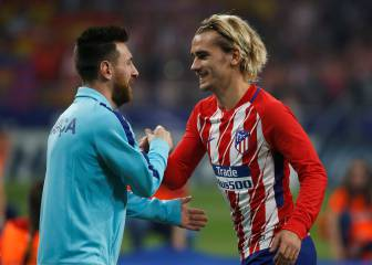 Messi calls Griezmann to invite him to Barça next season