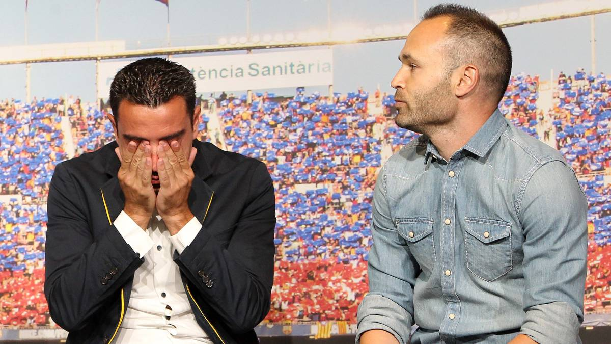 Xavi pens an emotional letter to Andrés Iniesta