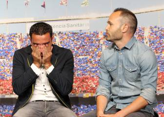 Xavi pens an emotional letter to Andres Iniesta