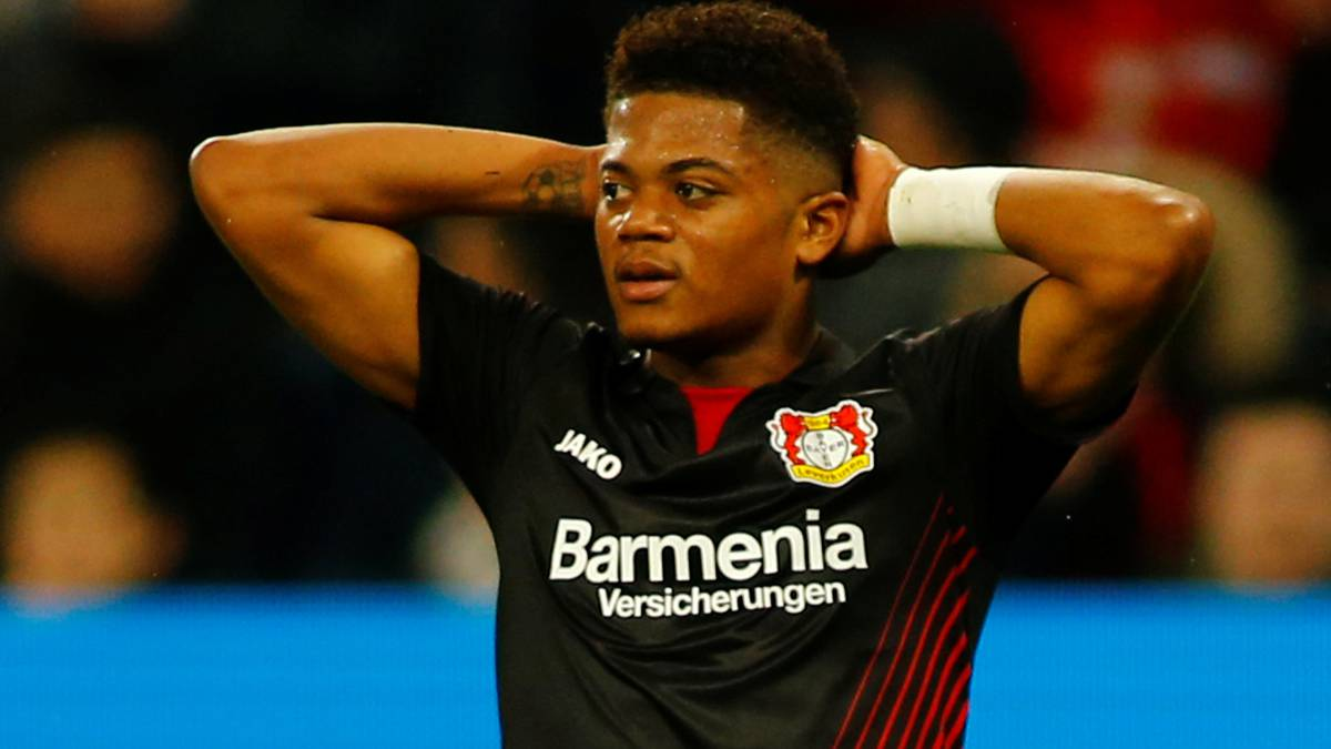 Madrid eyeing Leverkusen's Bailey as replacement for Gareth Bale