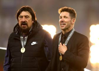 Atlético to ask CAS to allow Simeone on the bench for the Super Cup