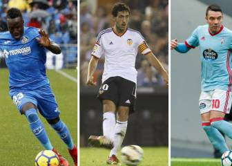 El 'once' ideal de la temporada en LaLiga: Messi, Parejo, Djené...