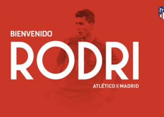 Official: Rodri signs for Atlético Madrid
