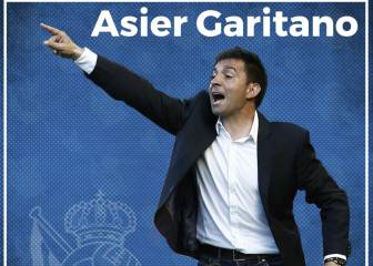 Asier Garitano takes over as Real Sociedad coach