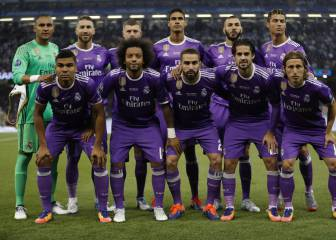 Real's XI in Kiev have played only three times since Cardiff