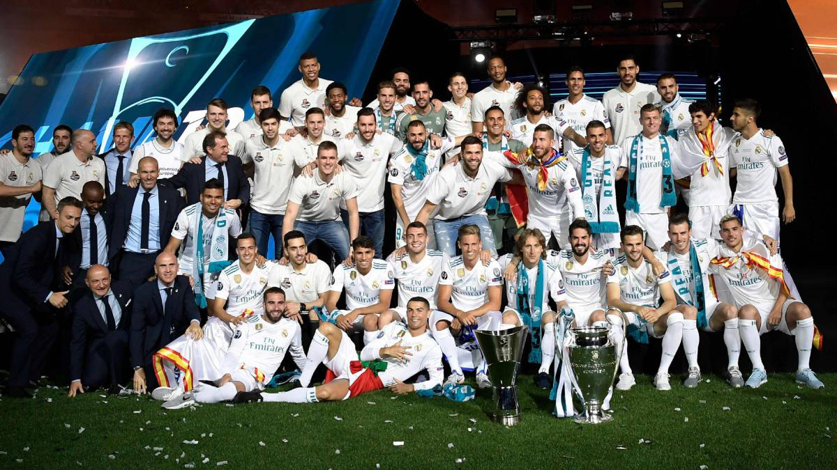 celebracion champions real madrid 2017