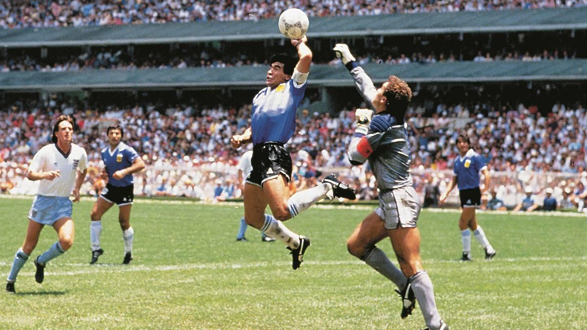 Image result for hand of god maradona