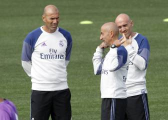 Zidane's decision to quit even took his assistants by surprise