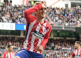 Griezmann tells his camp he's staying at Atlético Madrid