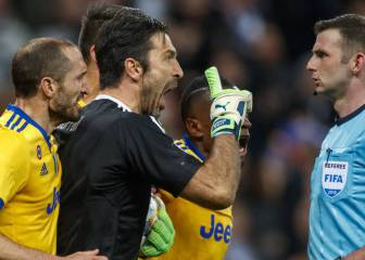 Buffon: 3-match ban for red card in Champions League quarter final against Real Madrid