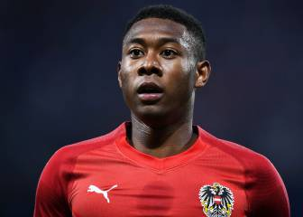 Alaba se aleja del Madrid: