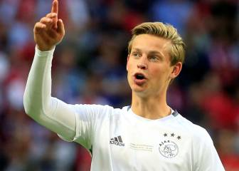 Barcelona closing in on Ajax's Frenkie de Jong