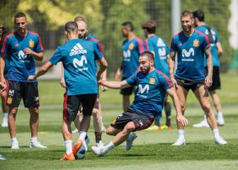 Dani Carvajal back in with Spain squad ahead of Portugal opener