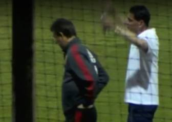 Tense chat between Fernando Hierro and Lopetegui - Telecinco