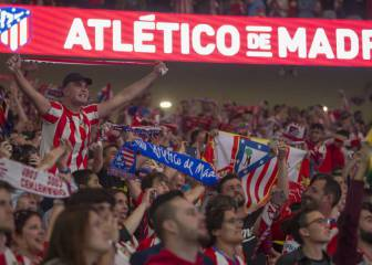 Atlético dealt partial stadium ban in the Champions League