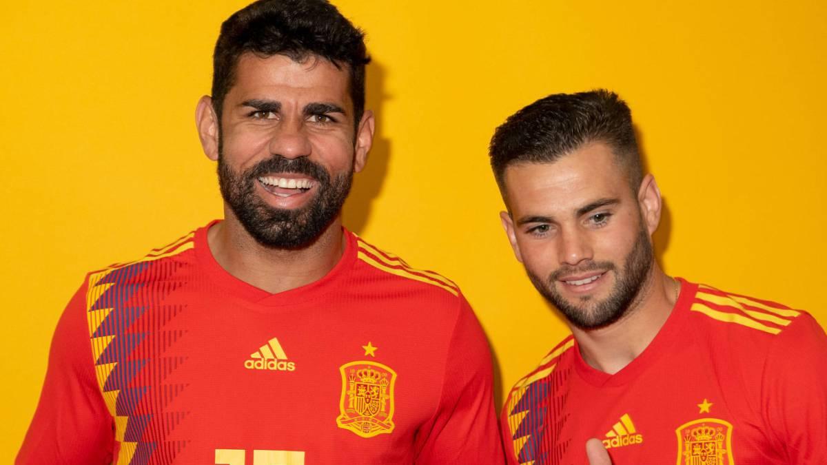 Diego Costa y Nacho.
