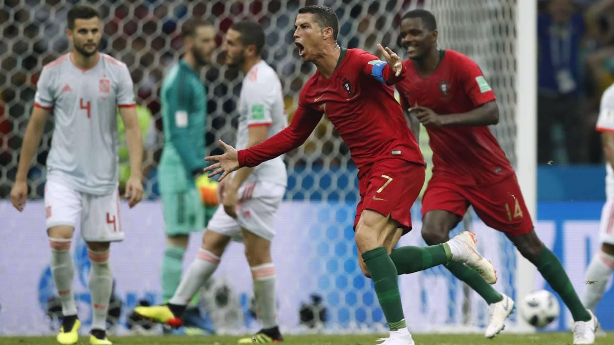 Portugal 3 - 3 España: resumen, resultado y goles. Mundial Rusia