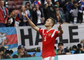 Cheryshev: 'I texted Nacho to congratulate him for his goal'
