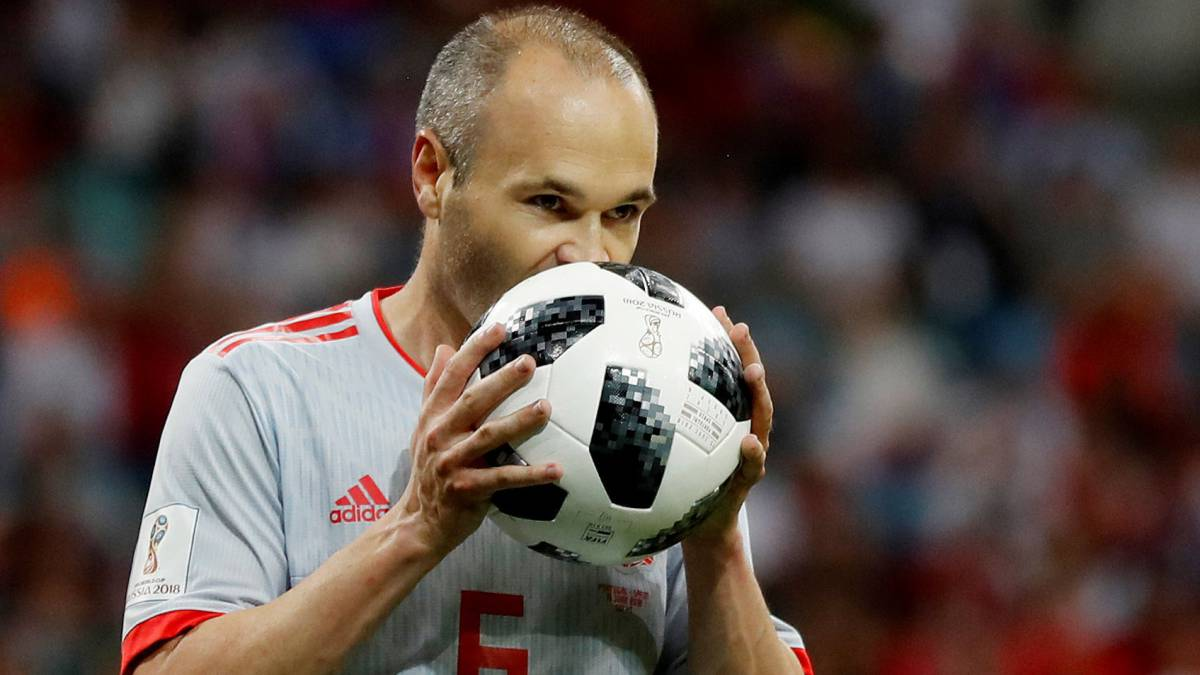 Iniesta: Spain planning tribute match against Brazil in Albacete