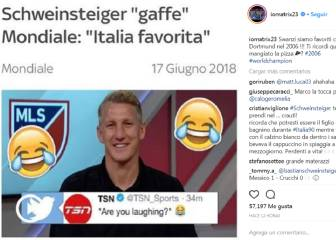Schweinsteiger takes swipe at Italy...and Materazzi bites back