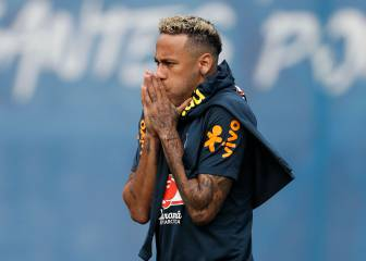 Neymar gives Brazil a fright after screams of pain