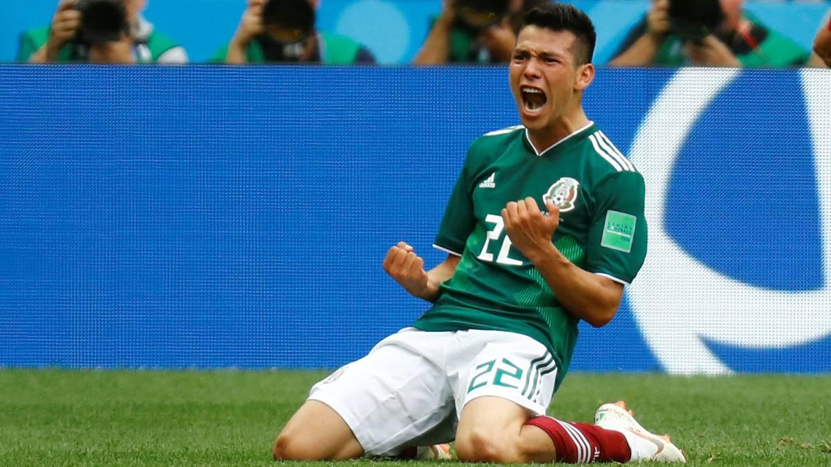 El Real Madrid, pendiente del goleador mexicano Lozano