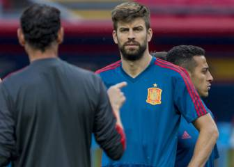 Piqué accepts warning from Bartomeu