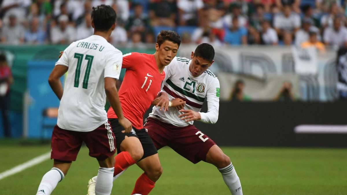 94972d7da64fd Corea del Sur - México  así hemos vivido el partido del Mundial 2018 ...
