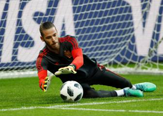 De Gea the only 2018 World Cup keeper who hasn't made a save