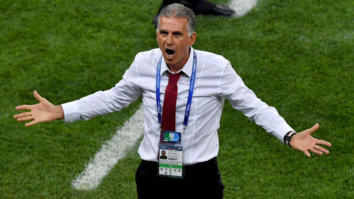 "Queiroz: ""Maybe the ref didn't send Cristiano off because of who he is..."""