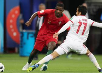 William Carvalho no se entrena por problemas musculares