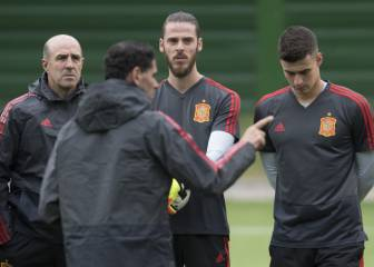 De Gea will start against Russia, says Spain boss Hierro