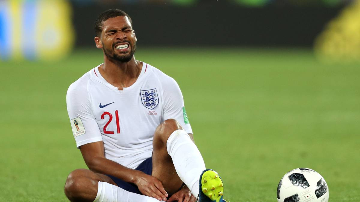 Loftus-Cheek con Inglaterra.
