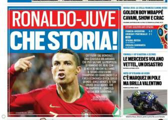 Italian media links Ronaldo with move to Juventus