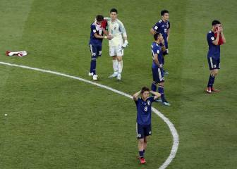 Japan leave thank you note and an immaculate dressing room