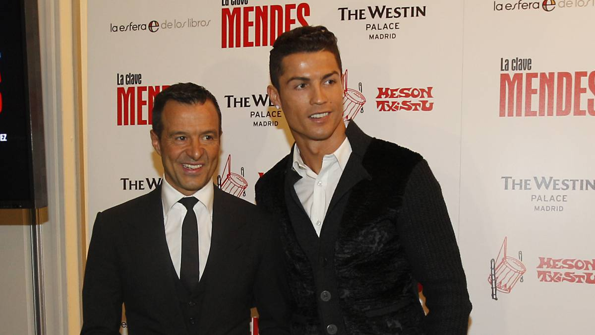 "Mendes: ""Cristiano to Juve? If he goes, it will be to undertake a new challenge"""