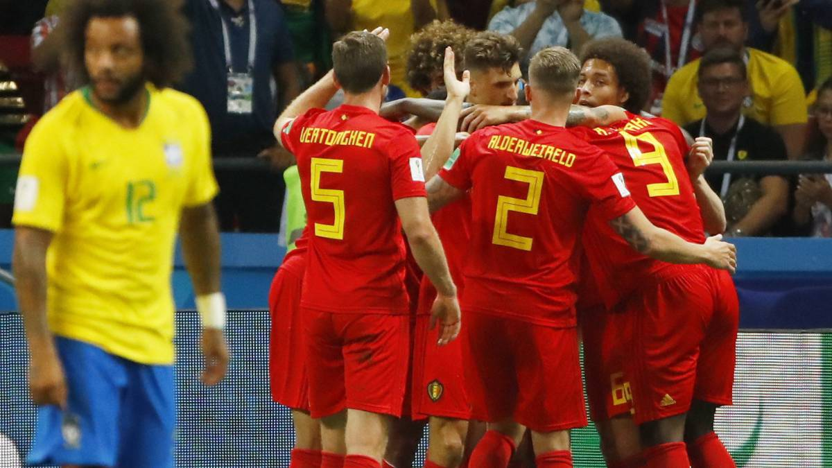 Brasil - Bélgica en vivo  cuartos del Mundial 2018 ac9c5bff610f1