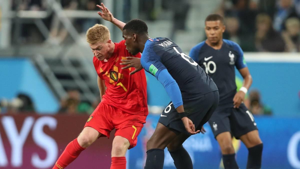 Sigue el Francia-Bélgica, directo online, semifinal del Mundial de Rusia 2018, hoy, 10 de julio, a las 20:00 en AS.com