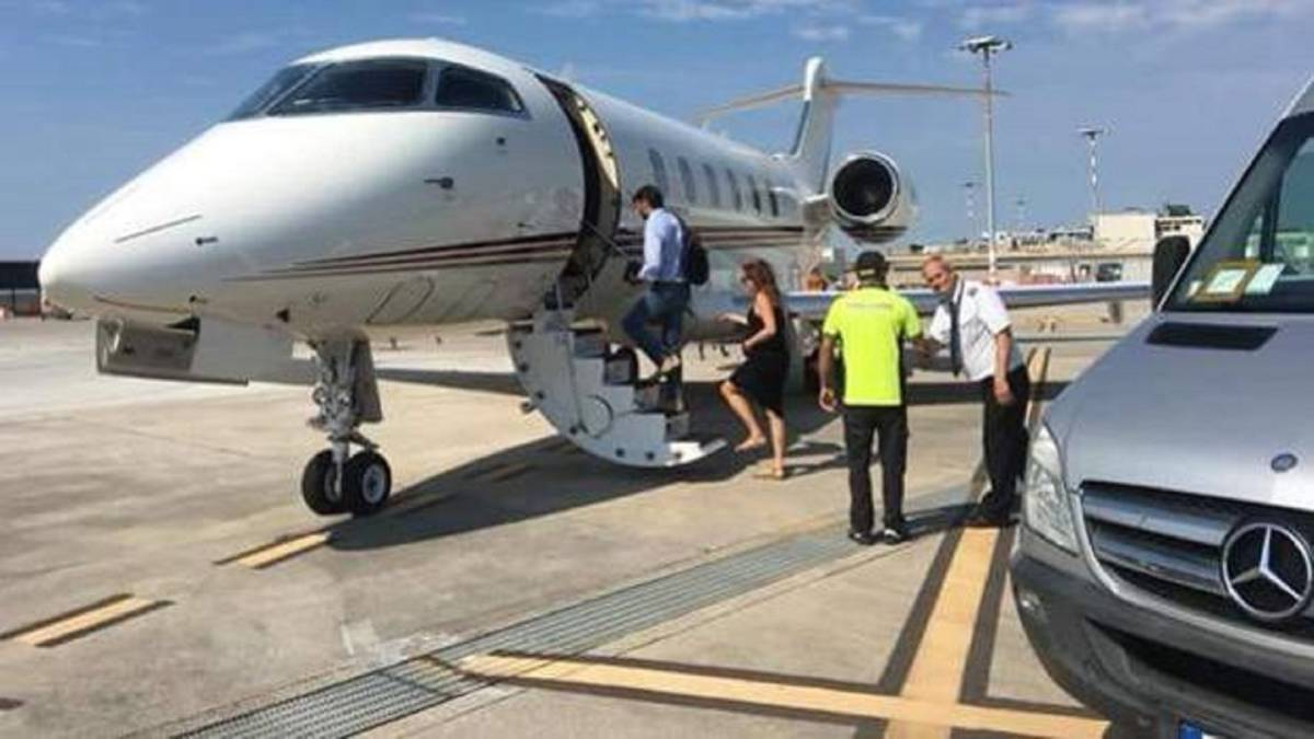 Agnelli en route to Greece to welcome Cristiano to Juventus