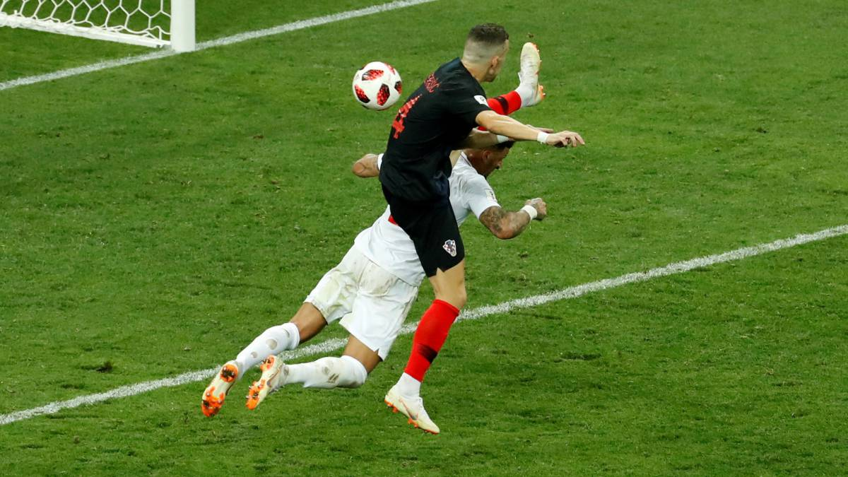 Croatia 2-1 England: Perisic goal should have been disallowed, says AS resident ref Iturralde