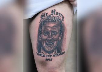 English fans' overly optimistic World Cup tattoos