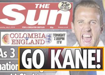 Colombia revel in England's woe after tabloid slur