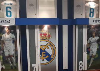 Cristiano's photo taken down from Bernabéu dressing room